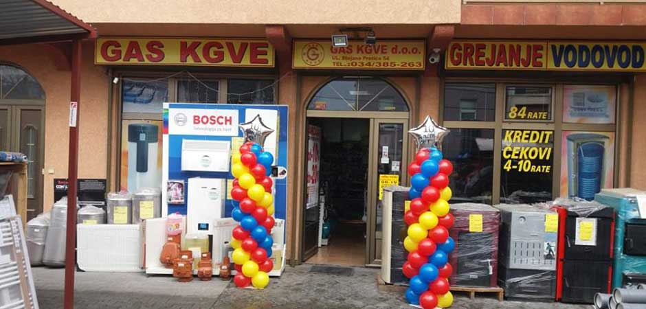 Dobrodošli u GAS KGVE